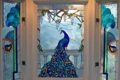 Peacock Window