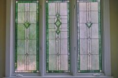 Three Window panels
