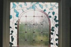 Flower on vines window